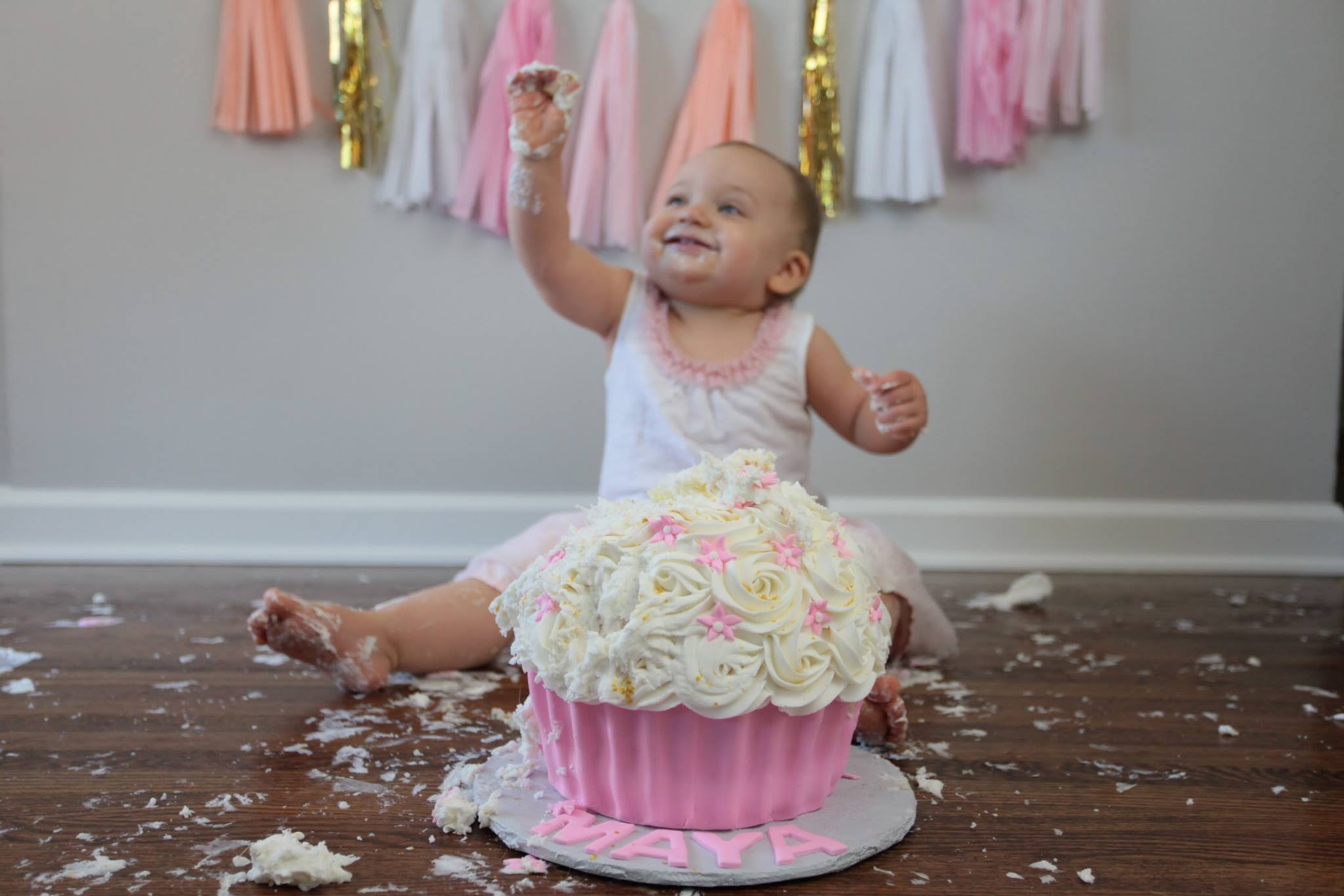 Baby First Birthday Cake Smash