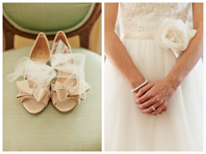 French Bridal Wedges